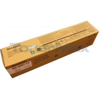 SHARP MX-6240N TONER CARTRIDGE CYAN